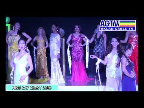 AKLAN CABLE TV video coverage of miss gay quest 2016
