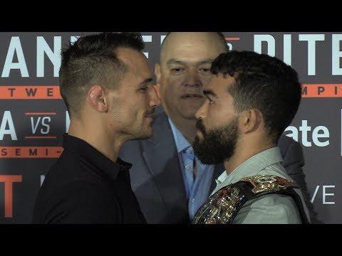 Bellator 221 Press Conference Staredowns - MMA Fighting