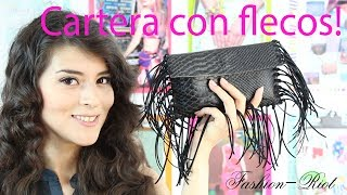 DIY Cartera con flecos (SUPER FÁCIL)  | Fashion Riot Thumbnail
