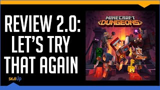 Another Minecraft Dungeons Review (Because everyone hated the first one) (Video Game Video Review)
