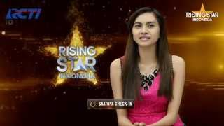 "Alisha Ahvi ""All By Myself"" Erick Carmen - Rising Star Indonesia Live Audition Eps. 8"