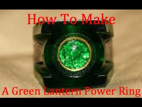 Green Lantern Power Ring For Kids