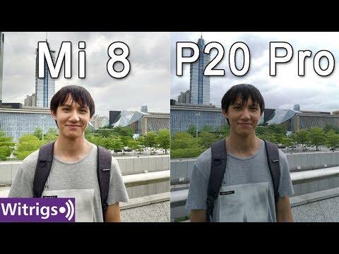 Xiaomi Mi 8 vs Huawei P20 Pro Camera Test | Low Light Photo Comparison