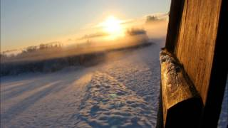 Beautiful Winter Song and wonderful snowy winter landscape