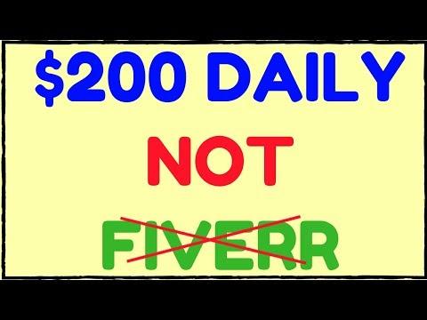 Earn $200 Daily NOT Fiverr - Make Money Online