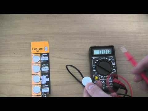 5 x Lithium CR2032 Coin Cell 3V Battery from YouTube · Duration:  1 minutes 19 seconds