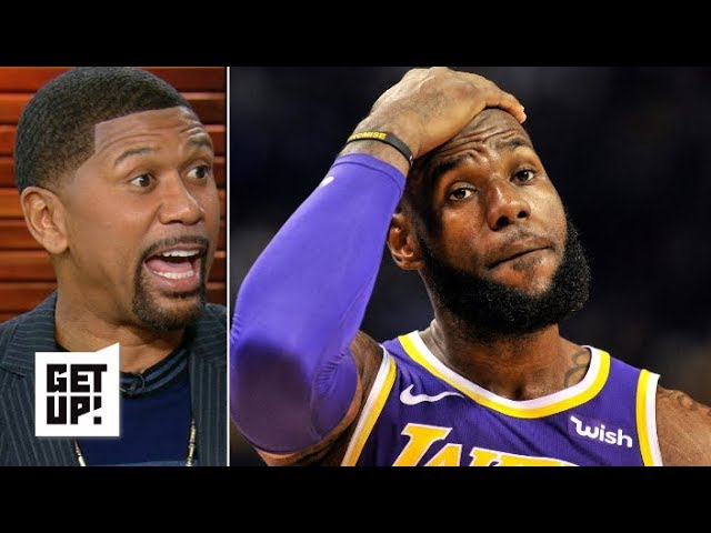 The trust between LeBron and the Lakers' locker room is fractured – Jalen Rose   Get Up!