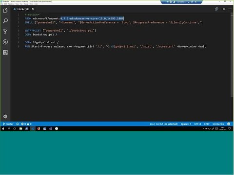 Getting Started with Docker for Windows and .NET Apps