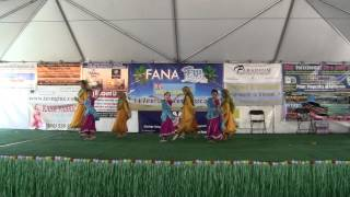2012 Fiji Festival Indian Dance