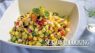 プチプチのスーパーフード「キヌアと野菜のタブレ」の作り方 | SEASONAL COOKING