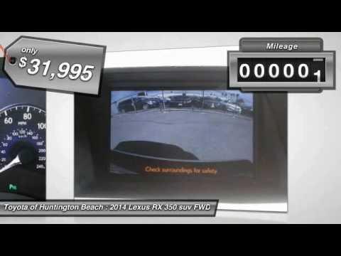 2014 Lexus RX 350 Toyota Of Huntington Beach 370188