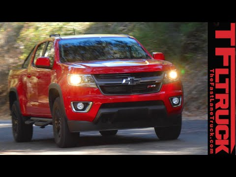 2016 Chevy Colorado Duramax Diesel First Drive Review Youtube