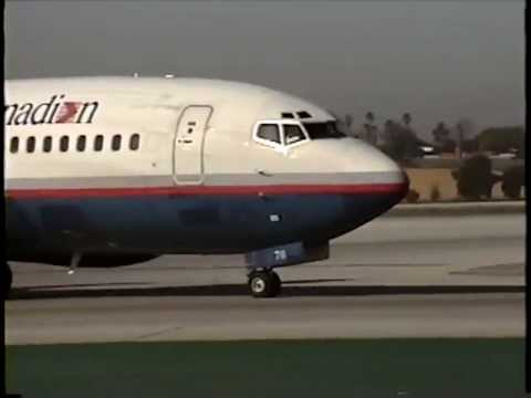 Classic LAX Plane Spotting (1992)