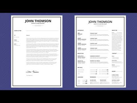 Free Professional Resume Template - Minimal Simple Lite