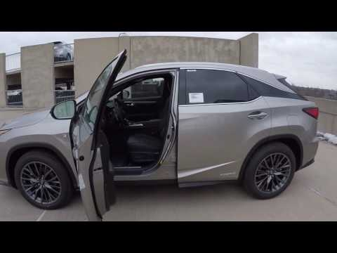2017 lexus rx 450h 4x4 suv hybrid f spt schaumburg il. Black Bedroom Furniture Sets. Home Design Ideas
