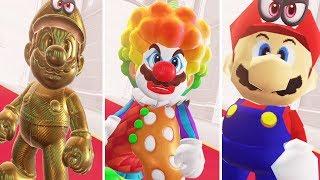 Super Mario Odyssey - All Cutscenes Full Movie + All Special Boss Gameplay Walkthrough