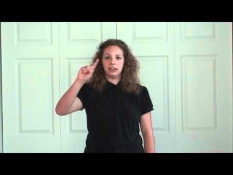 Beginning ASL Class-Week Two-Vocabulary for Emotions and States of Being part 2