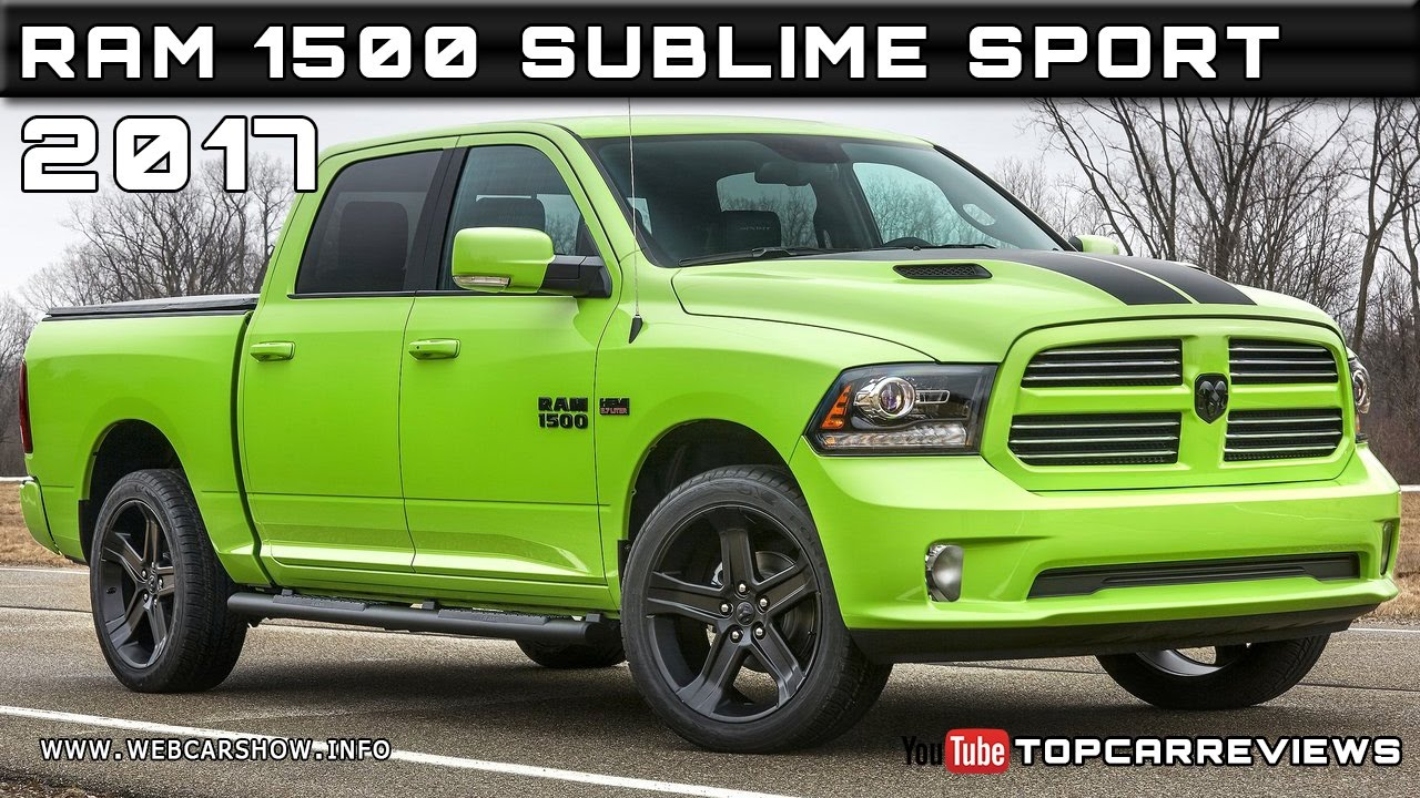 2017 ram 1500 sublime sport review rendered price specs release date youtube. Black Bedroom Furniture Sets. Home Design Ideas