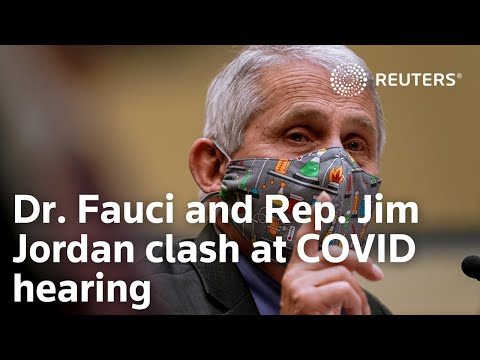 Dr. Fauci and Rep. Jim Jordan in heated House COVID hearing