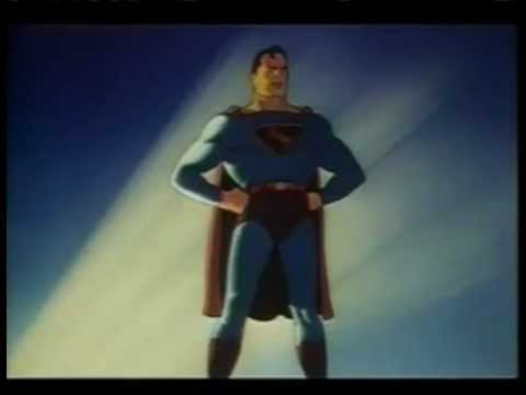 Superman Cartoons from the 1940's