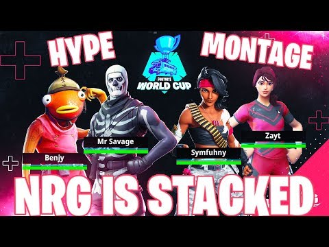 Fortnite World Cup Week 1 NRG Hype Montage