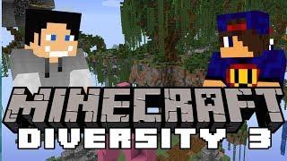 Raz Dwa Trzy Babajaga Paczy!  Minecraft Diversity 3 [11/x] w/ GamerSpace