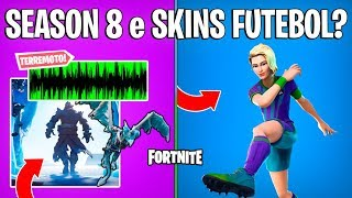 FORTNITE-EVENT SEASON 8 and FOOTBALL SKINS COMING BACK?