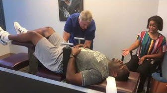 DeShaun's Acute Lower Back Pain & Sciatica First Chiropractic Adjustment