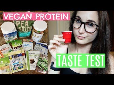vegan-protein-taste-test-||-missfitandnerdy-does-shots-😝