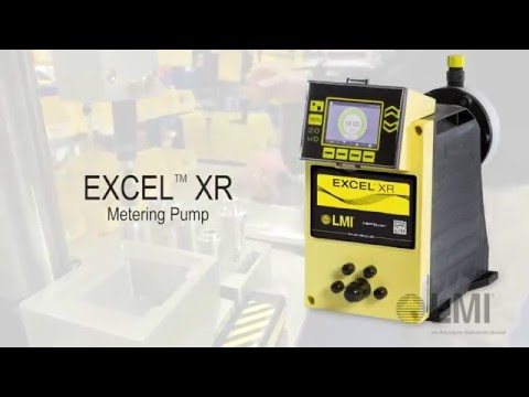 EXCEL XR METERING PUMP - Analog Configuration (English)