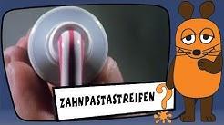Wie kommen die Streifen in die Zahnpasta? - Sachgeschichten mit Armin Maiwald