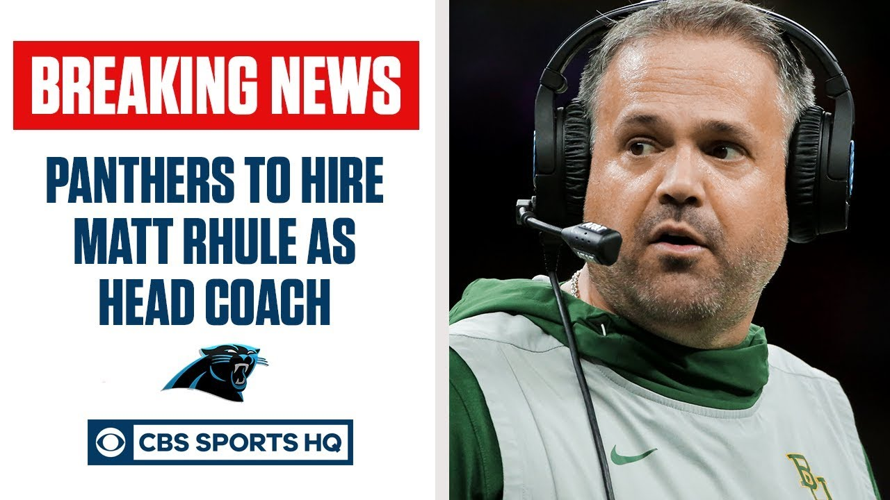 Baylor's Matt Rhule agrees to become Carolina Panthers coach