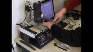 Oprava grafické karty přesným pájením BGA obvodů - jak opravit grafickou kartu
