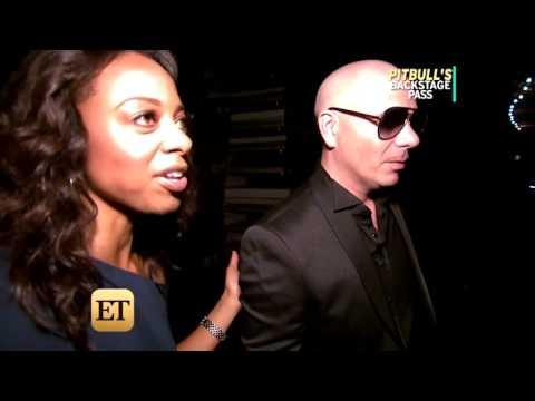 Pitbull & Enrique Iglesias Interview with Entertainment Tonight