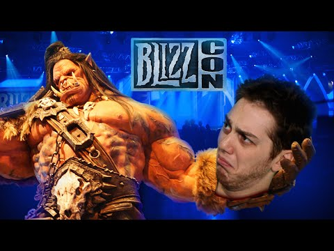 BATTLING ROCKETJUMP AT BLIZZCON 2014 (Bonus)