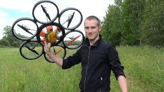 Полный Обзор Гексакоптера Wltoys V323