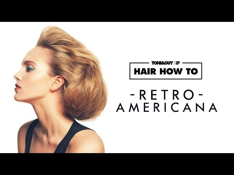 Hair How To: create a Retro American hairstyle