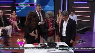 Gisela Campos con Doña Presbicia en SIETE Y MEDIO