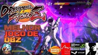 DRAGON BALL FighterZ melhor jogo de dbz