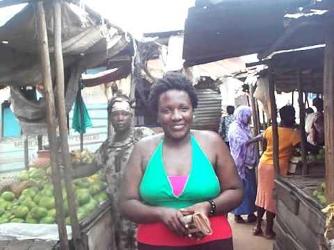 African Corner TV - Madame Hussein BB at Market Gitega Burundi