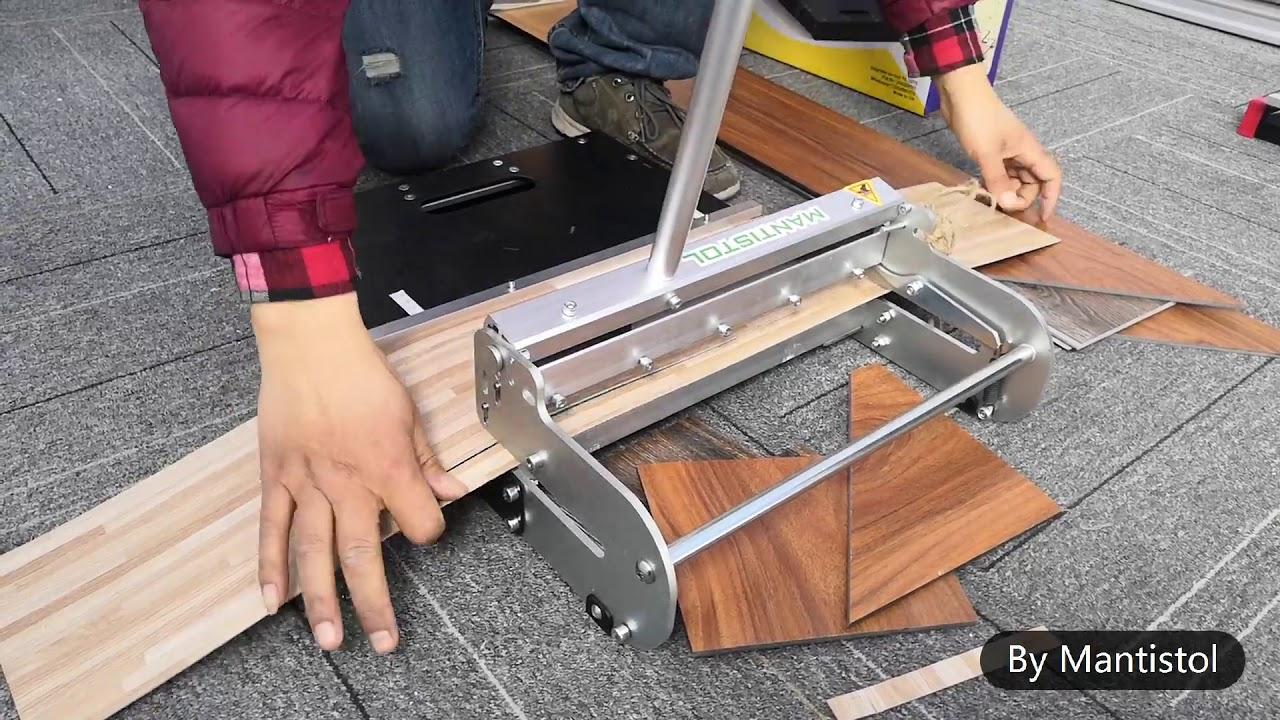 vinyl flooring cutter lvt330 13 inch lvt vct vinyl tile cutter