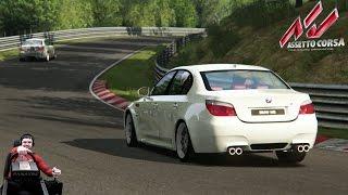Соний + BMW M5 E60 + Nürburgring + Assetto Corsa + Fanatec CSL Elite = Годнота :)