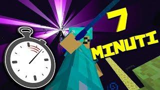 COSE DA FARE SU MINECRAFT IN 7 MINUTI