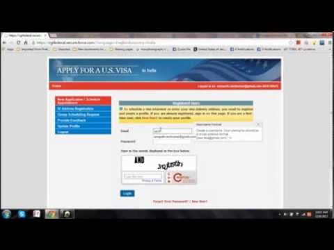 How to Book US VISA ( Step By Step With Instructions) EASY !! PART 1