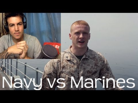 Reacting to Marine Life vs Navy Life