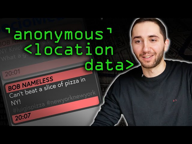 """Anonymous"" Location Data Problems - Computerphile"