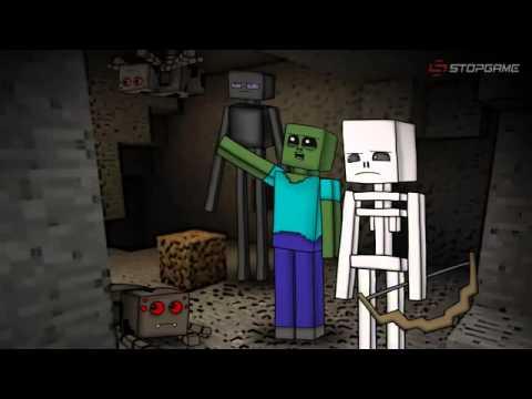 Minecraft Мультик-Отряд Мобов