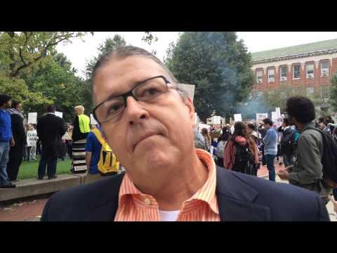 Robert Warrior reacts to board vote on Steven Salaita