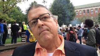 Robert Warrior reacts to board vote on Steven Salaita