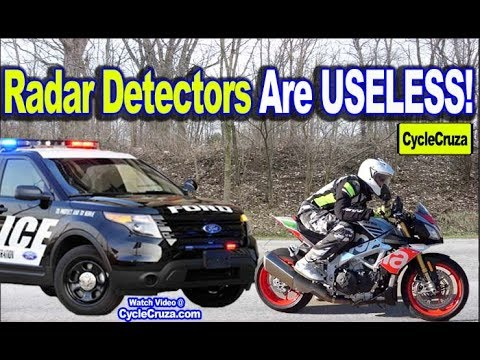 Why RADAR Detectors Are USELESS For Motorcycles (Do This Instead)